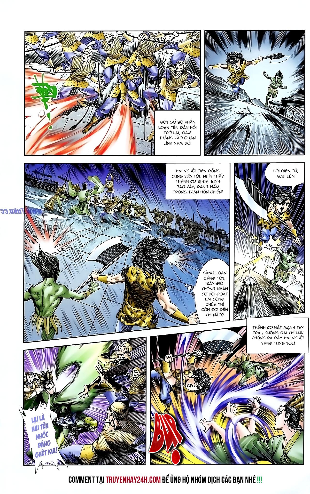 Cơ Phát Khai Chu Bản chapter 128 trang 20