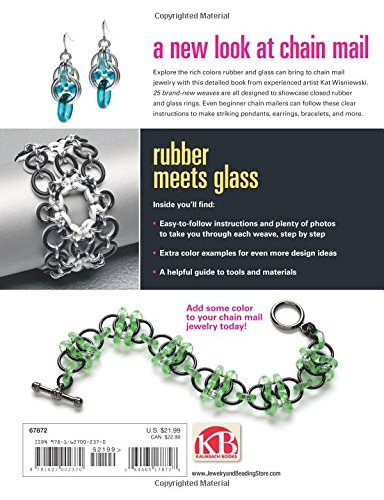Beading arts book review and giveaway new connections in chain she also has a great chart on pliers and she covers the basics of inner and outer diameter wire gauge and aspect ratio too greentooth Image collections