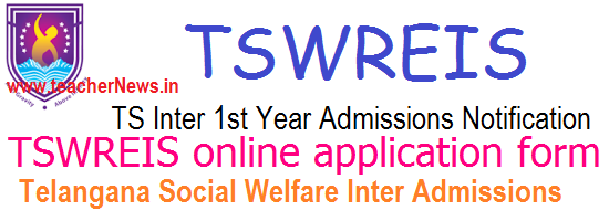 TSWRIES/ TS Social Welfare Inter Admissions 2020 Online Apply for MPC BiPC MEC CEC HEC Groups