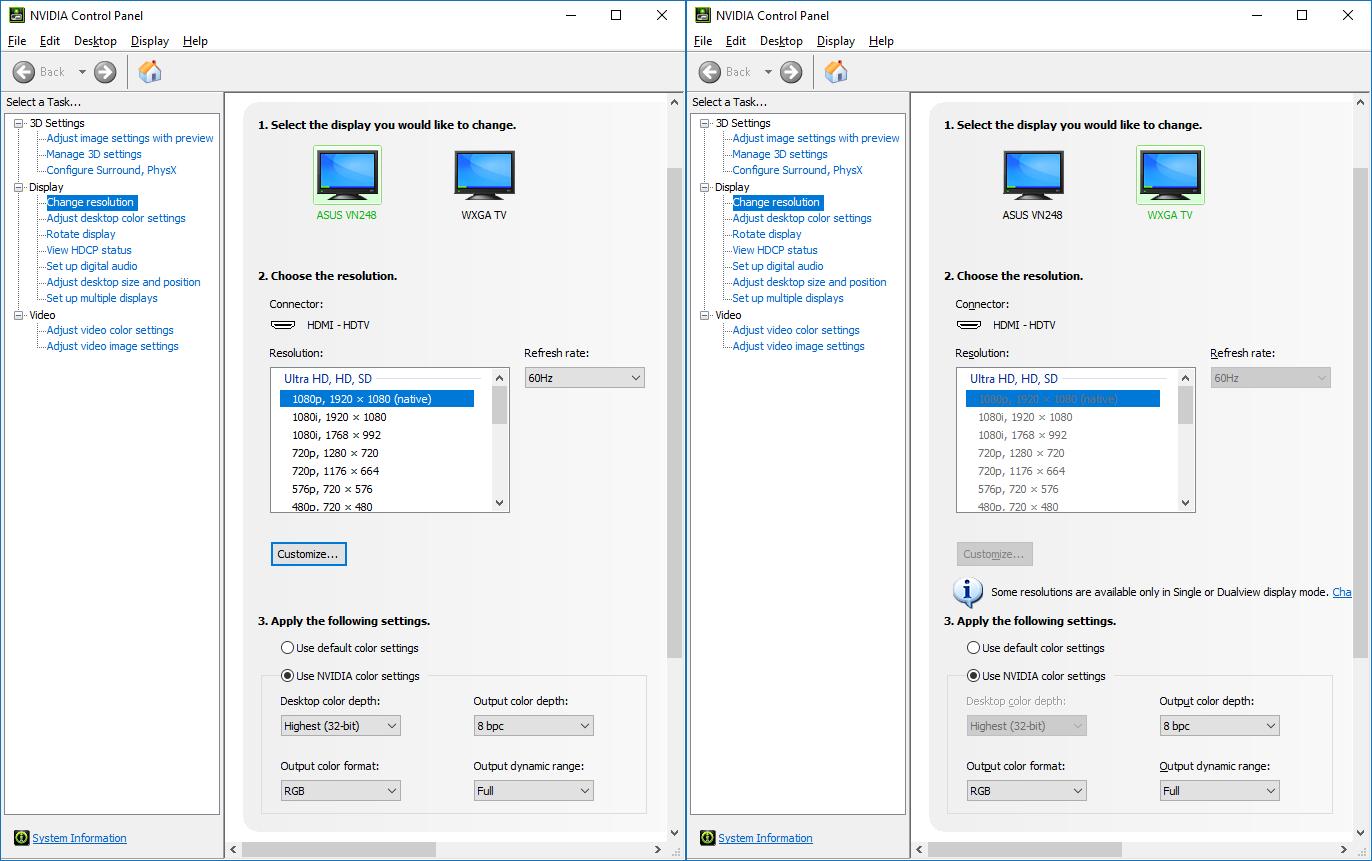 Ubuntu Corner: Different Resolution Cloned Display NVIDIA Setup