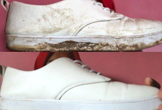 Trik Menghilangkan Noda Pada Sepatu Termasuk Juga Custom Sepatu