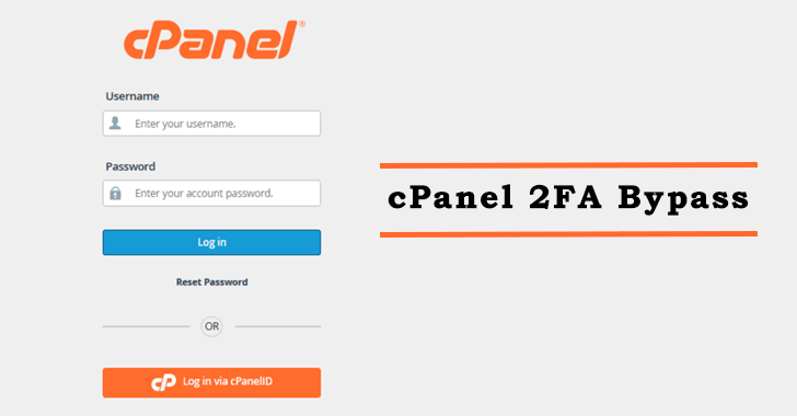 cPanel 2FA Bypass