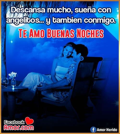 buenas noches amor te amo