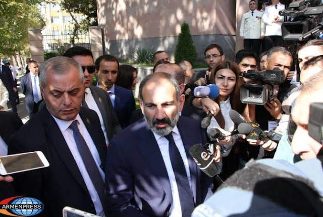 Para Pashinyan el Parlamento está disuelto de facto