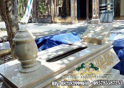 Makam Bokoran Marmer | Makam Marmer Bokoran Tumpuk | Kijingan Makam Bokoran