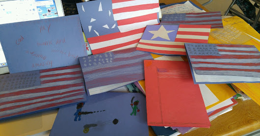 Special Letters of Thanks- for our VETERANS