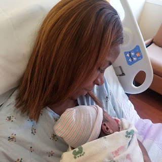 Linda Ikeji gives birth to baby boy