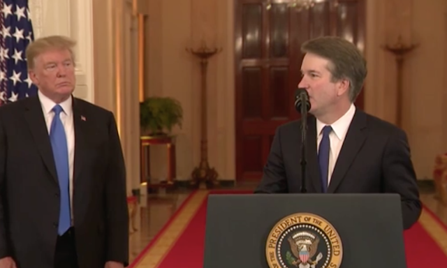 Trump picks conservative judge Kavanaugh for U.S. Supreme Court