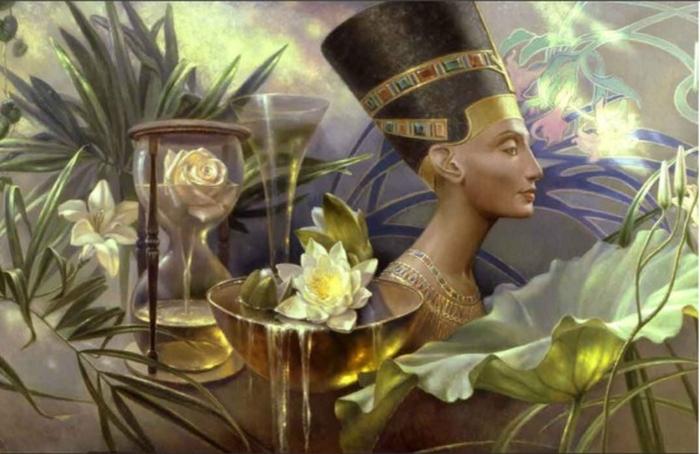 Картины цветов маслом: от Древнего Египта до наших дней