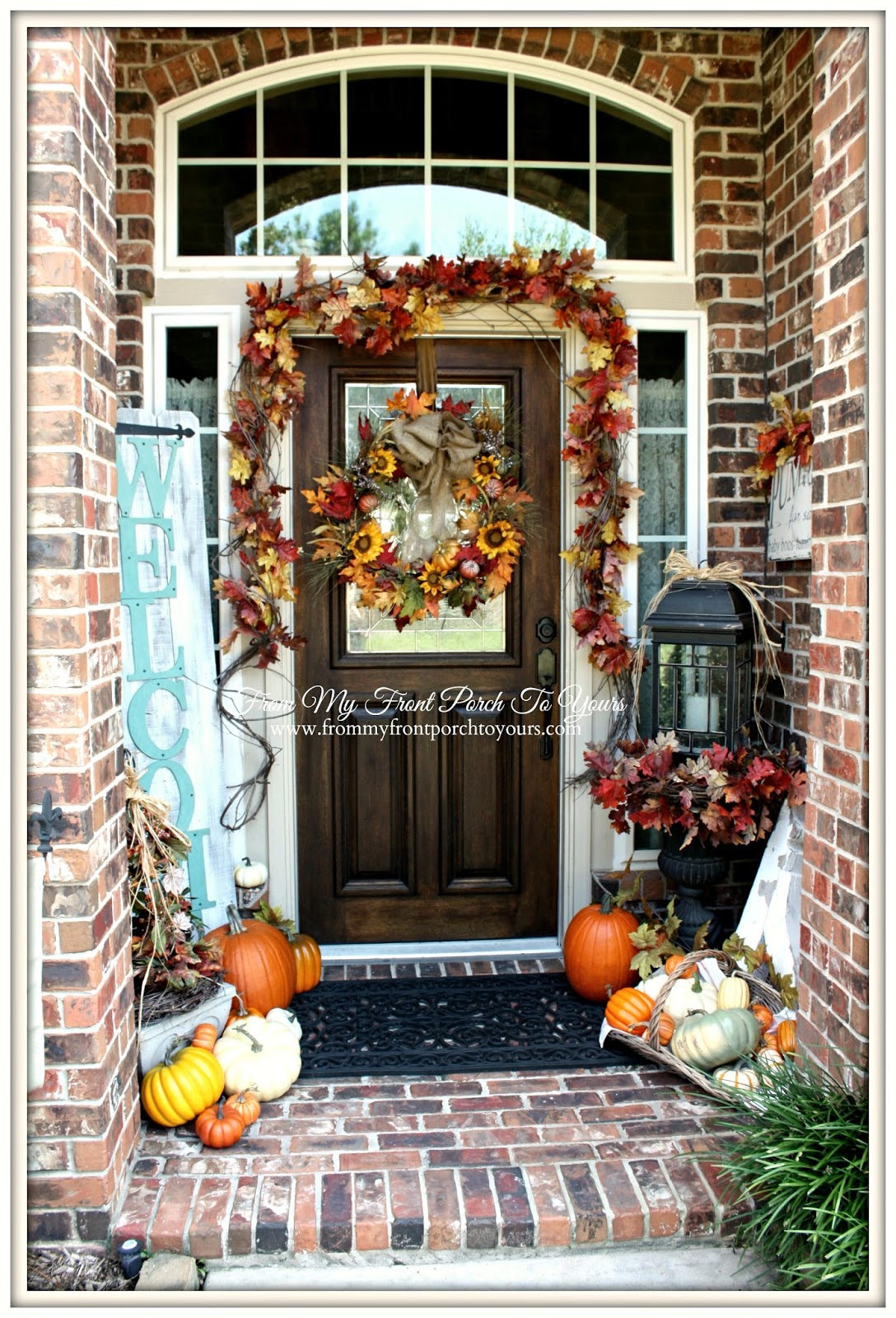 From My Front Porch To Yours- Falling For Fall Porch Party- Fall Front Porch