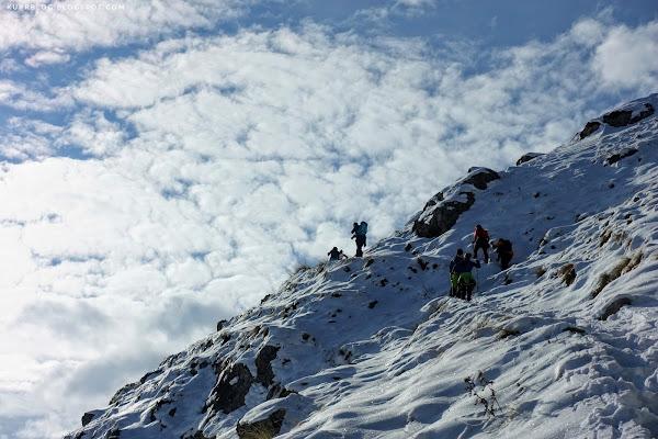 Подъём на Кяпаз с южной стороны