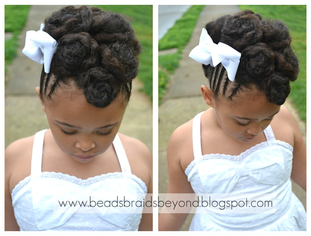 Braided Hair Styles For Little Girls: Beads, Braids And Beyond: Easter Hairstyles For Little