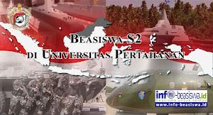 Beasiswa S2 Universitas Pertahanan