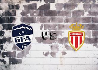 Rumilly Vallières vs AS Monaco  Resumen y goles
