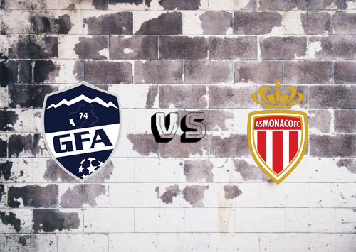 Rumilly Vallières vs AS Monaco  Resumen
