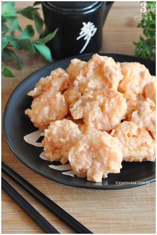 como fazer camarão empanado
