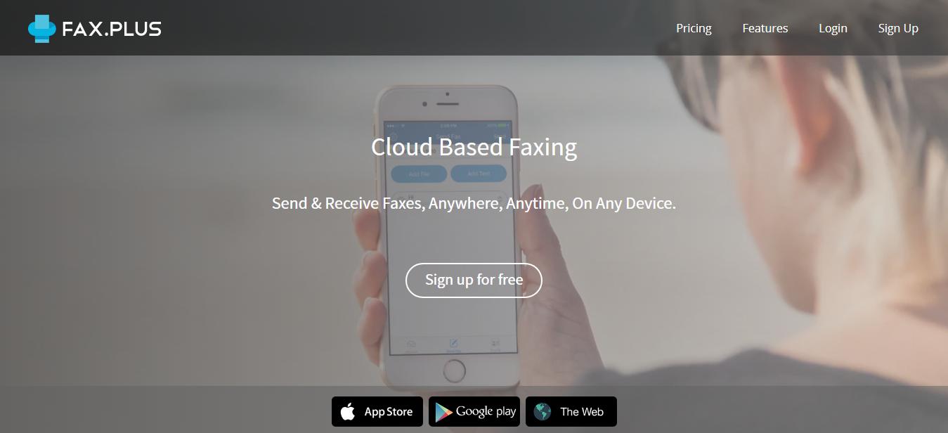 FAX.PLUS 免費線上傳真服務,不需傳真機每月免費傳10頁文件