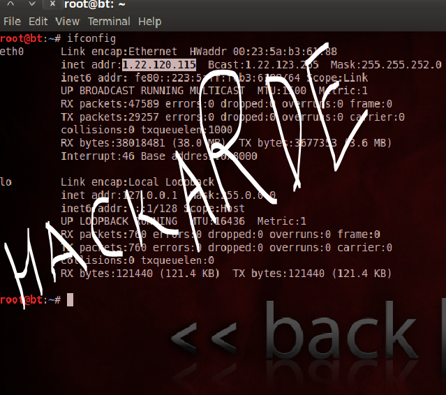 crack facebook password with backtrack 5 r3