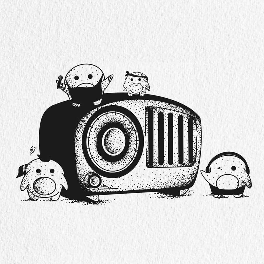 09-Creatures-on-the-radio-Raghav-Sachdev-www-designstack-co