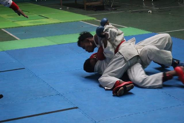 Ratusan Atlet Ikuti Kejuaraan Jujitsu Piala Koni 2019
