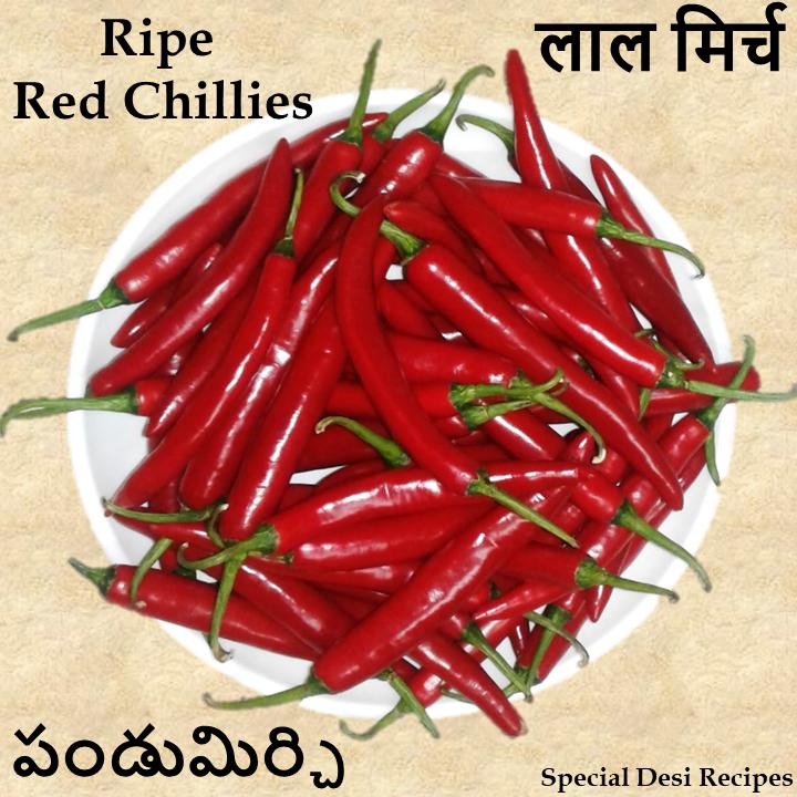 ripe red chilli chutney special desi recipes