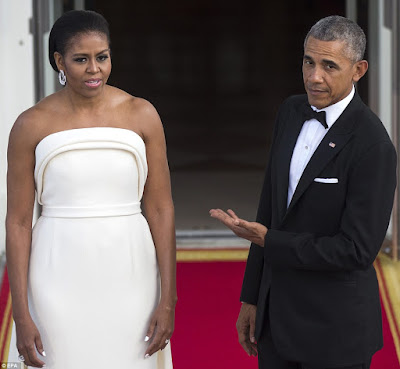 Michelle Obama stuns at the White House state dinner