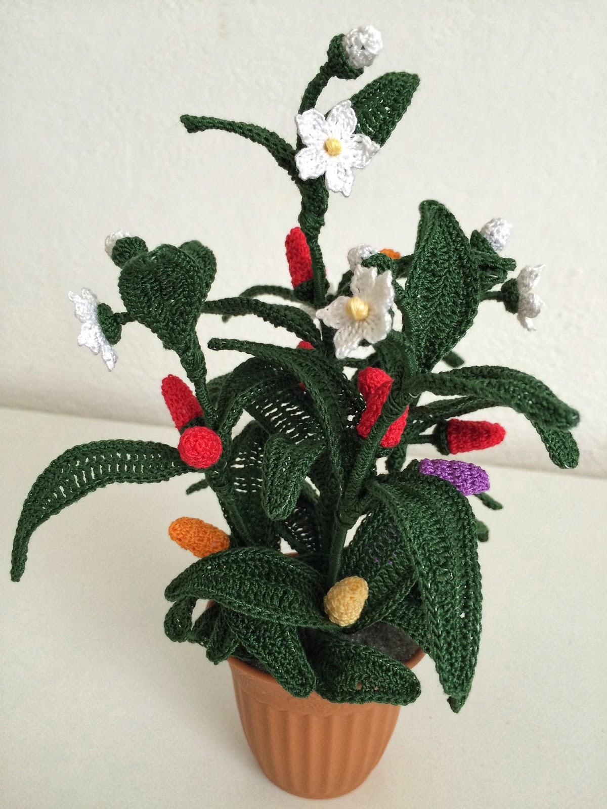 Il Blog Di Sam How To Crochet A Chili Pepper