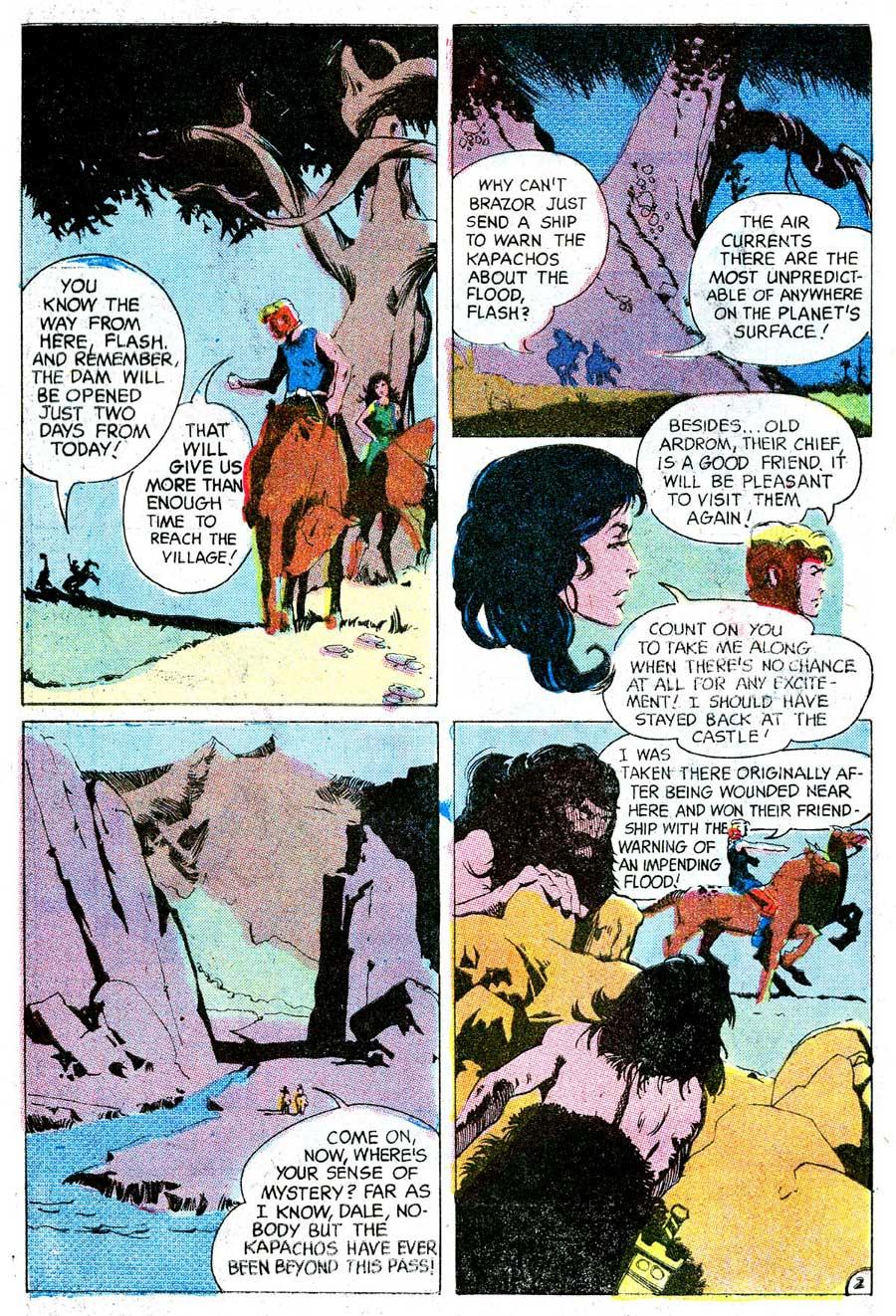 Flash Gordon v4 #13 1960s silver age science fiction comic book page art by Jeff Jones