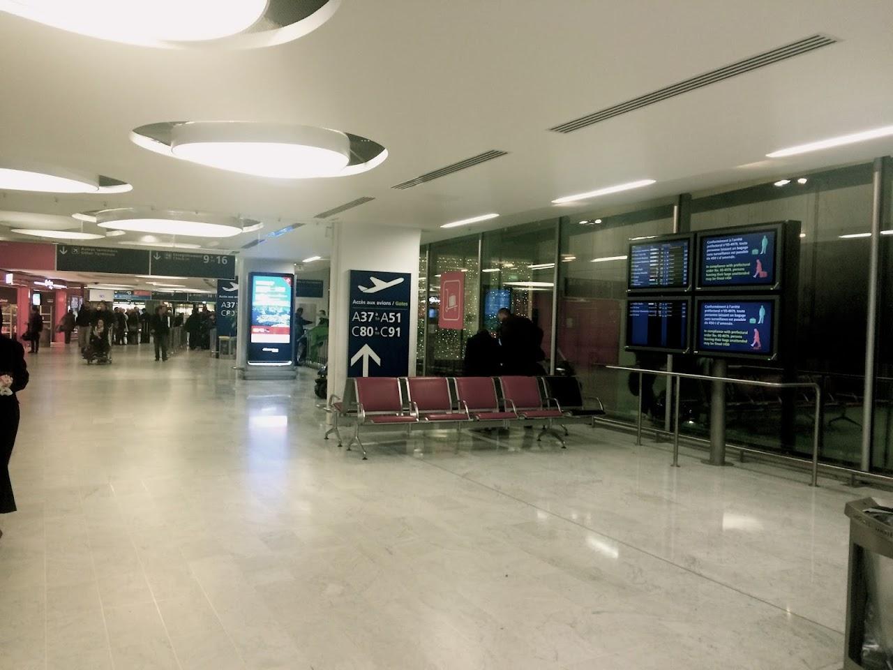 シャルル・ド・ゴール空港(Charles de Gaulle)
