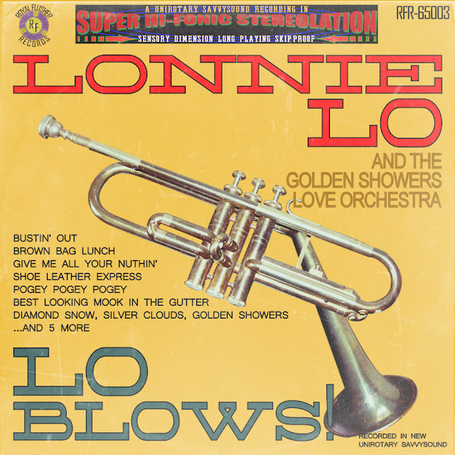 Cool jazz vinyl lp record cover Lo Blows by Lonnie Lo trumpet player