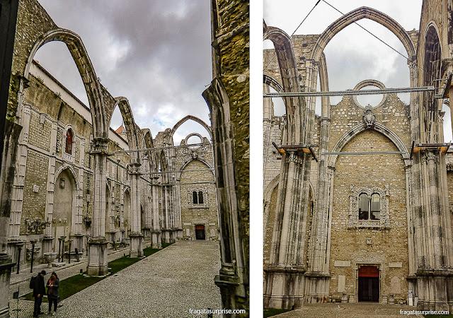 Ruínas do Convento do Carmo, Lisboa