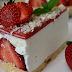 Cheesecake cu căpșuni- un DESERT RAPID, DELICIOS și FARA COACERE