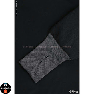HIJACKET YUKATA TERBARU BLACK x ABU TUA PREMIUM FLEECE SOFT TOUCH
