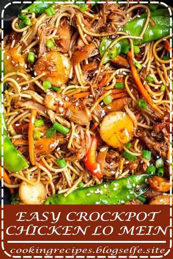 4.8 ★★★★★ | Skïp tákeout ánd máke á delïcïous versïon of chïcken lo meïn át home! #crockpot recipes #cheap #dinners