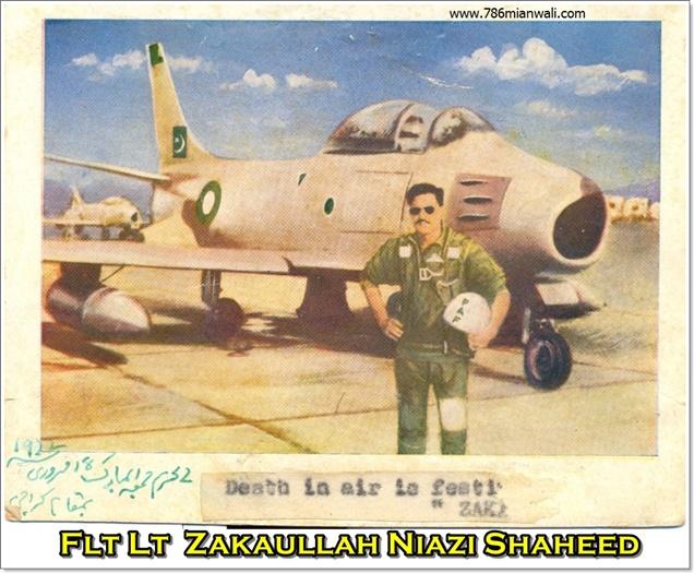 FLIGHT LIEUTENANT ZAKA ULLAH NIAZI
