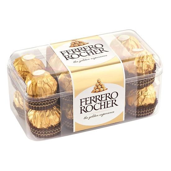 Chocolate nhân hạt dẻ Ferrero Rocher 16 viên