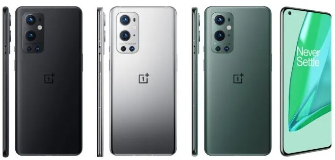 OnePlus 9 and OnePlus 9 Pro Color options revealed officially ahead of launch