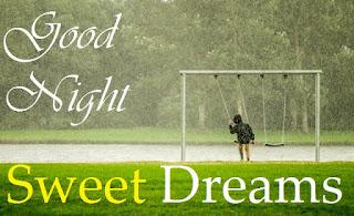 happy rainy good night images