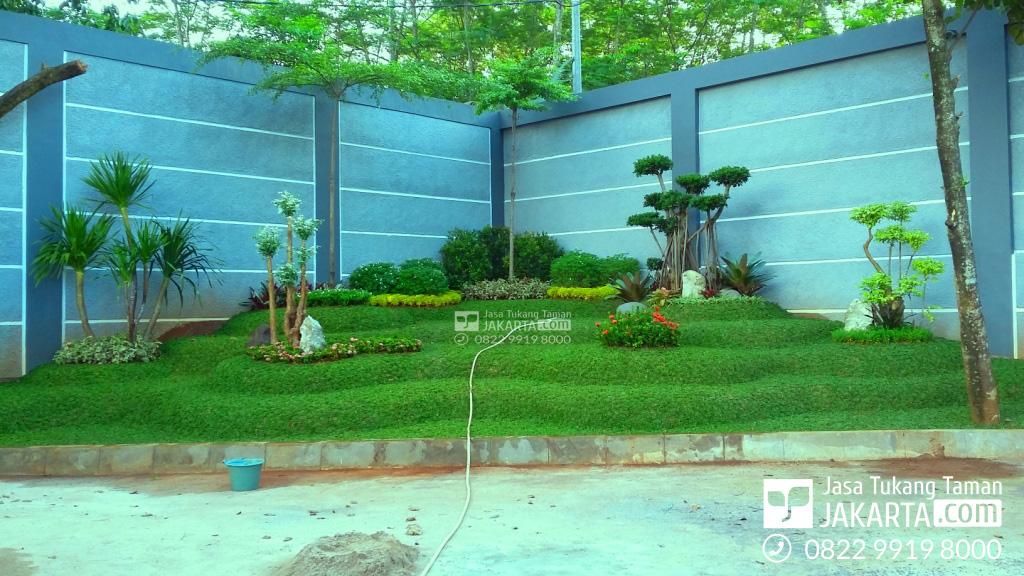 Jasa Taman murah di jakarta - taman belakang rumah