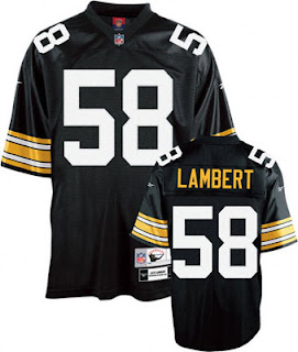 Big and Tall Jack Lambert Steelers Jersey