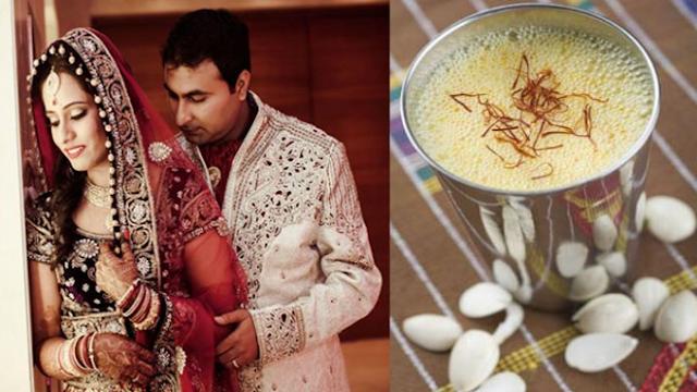 शादी की रात दुल्हन क्यों पिलाती है अपने पति को गाय का दूध   99% लोग नहीं जानते असली वजह..