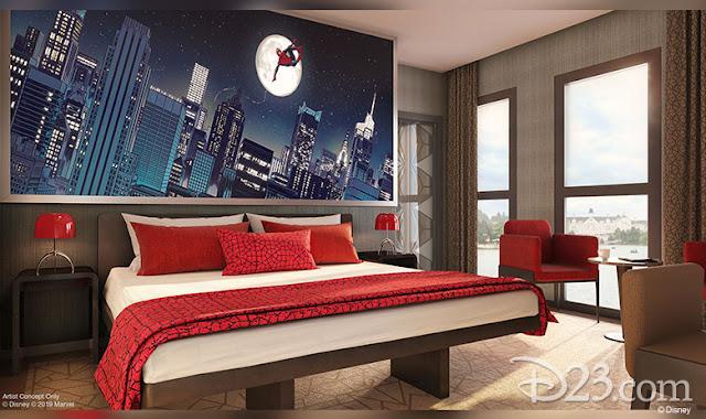 D23 Expo 2019 Disney Parks, Disney's Hotel New York The Art of Marvel