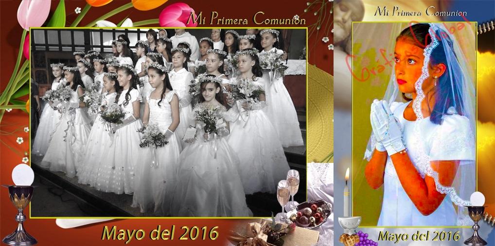 20 Tarjetas 1ra Comunión plantillas psd