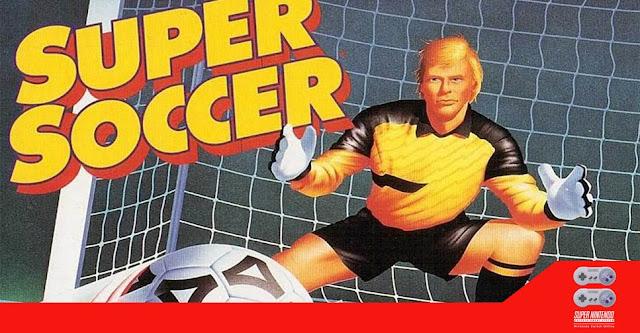 Super Soccer (SNES) é uma tentativa frustrada de cavar um pênalti