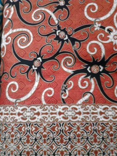 Batik Kalimantan Timur Yang Mudah Digambar : batik, kalimantan, timur, mudah, digambar, Sketsa, Gambar, Batik, Kalimantan,