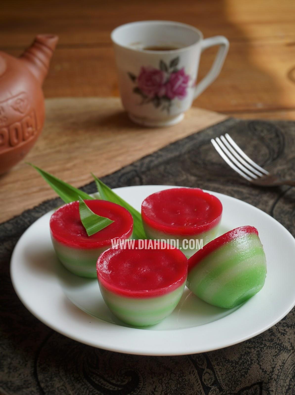 Diah Didis Kitchen Kue Lapis Mini
