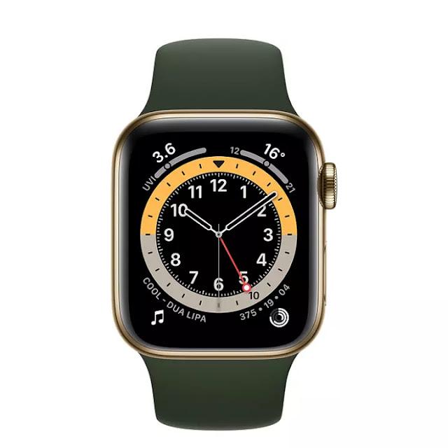 Apple Watch Series 6 นาฬิกาออกกำลังกาย