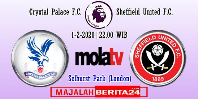 Prediksi Crystal Palace vs Sheffield United — 1 Februari 2020