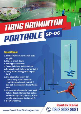 tiang badminton portable sp-06