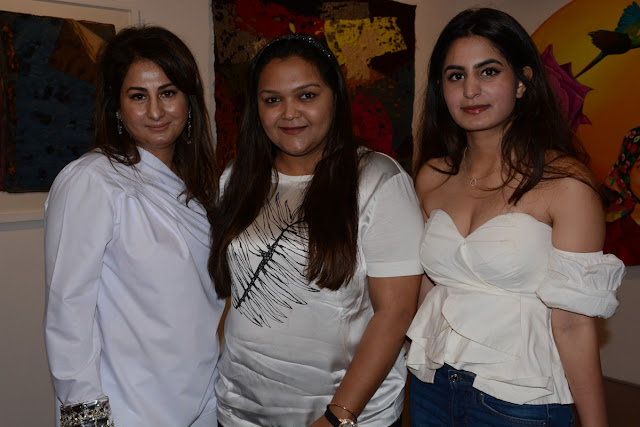 Surita Tandon, Chandni Nath Israni and Sumone